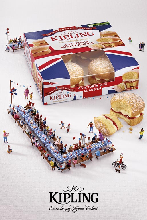 Mr Kipling Jubilee Celebrations Party ad