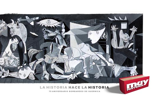 Muy Historia Guernica Close Up