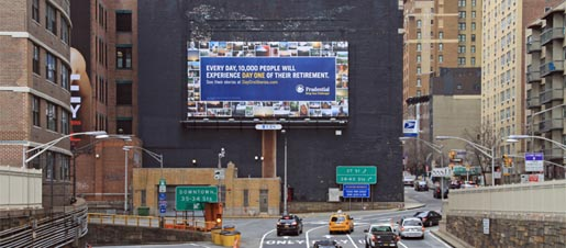 Prudential Day One Billboard