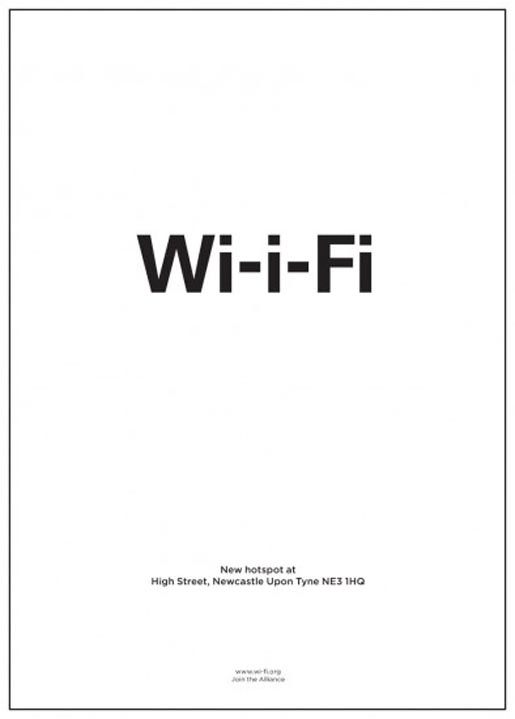 New hotspot location Wi-I-Fi