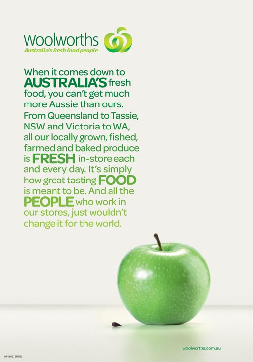 Woolworths Apple