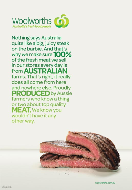 Woolworths Steak