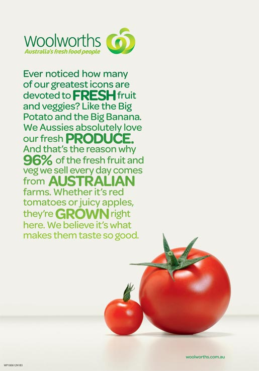 Woolworths Tomatoes