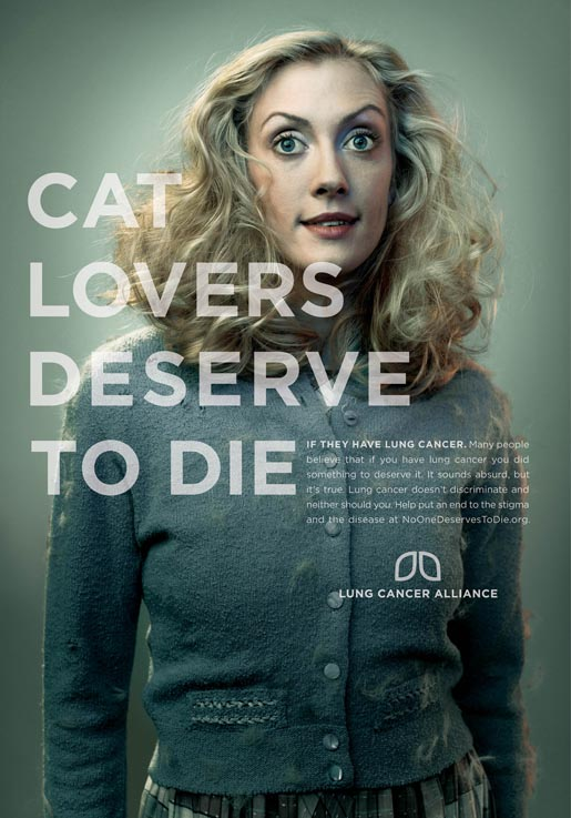 Cat Lovers Deserve To Die Poster
