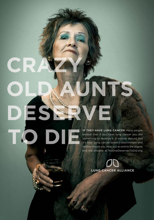 Crazy Old Aunts Deserve To Die Poster