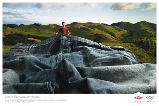 Dow Jeans print ad
