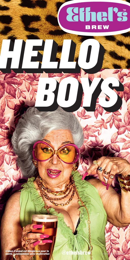 Ethel's Hello Boys