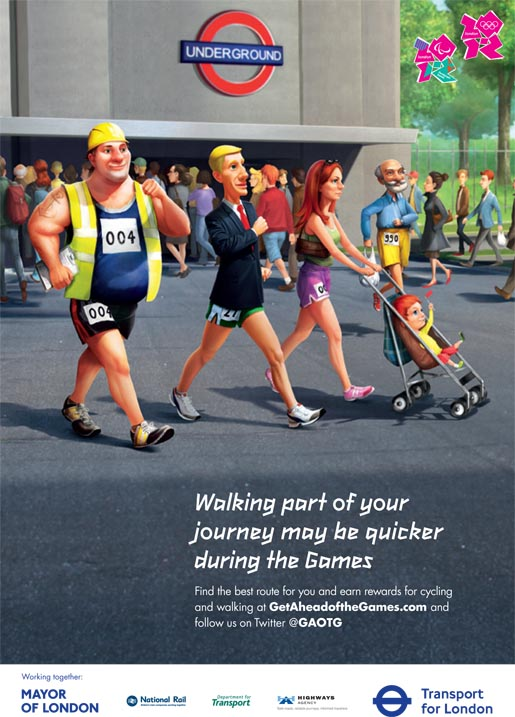 Get Ahead of the Games - Why Not Walk It