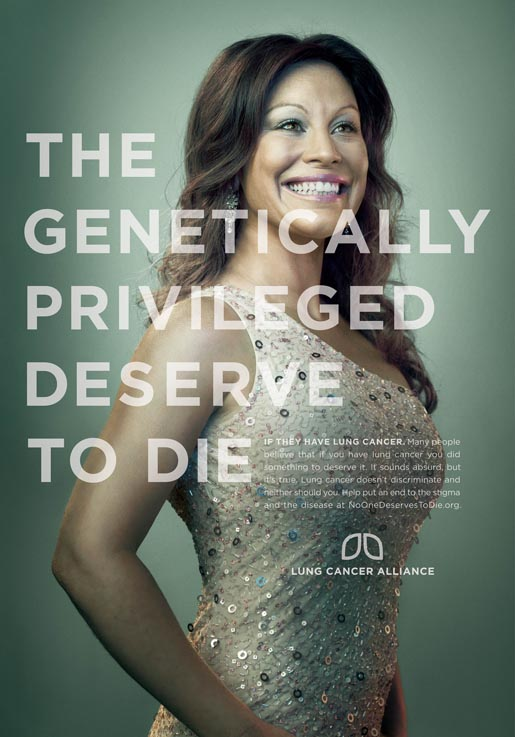Genetically Privileged Deserve To Die Poster