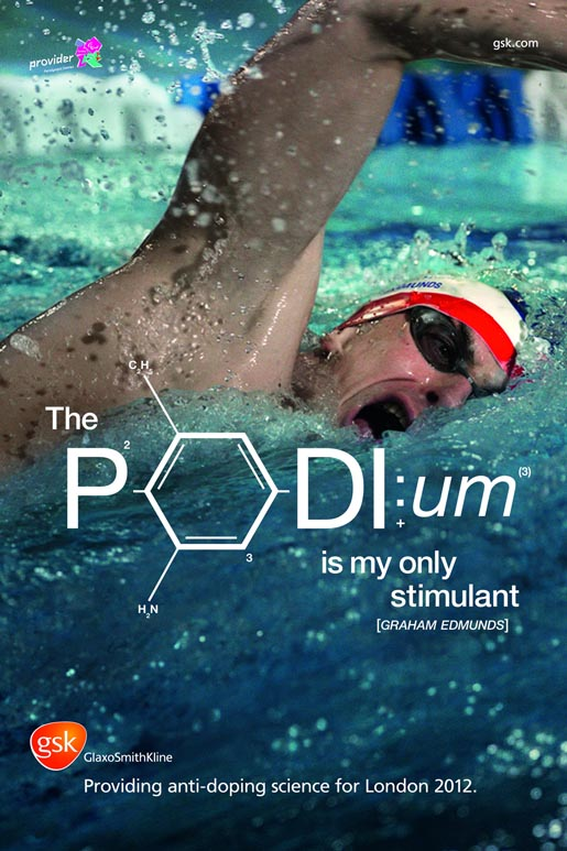 GSK Graham Edmunds Podium poster
