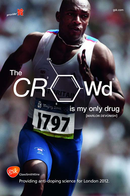 GSK Marlon Devonish Crowd poster