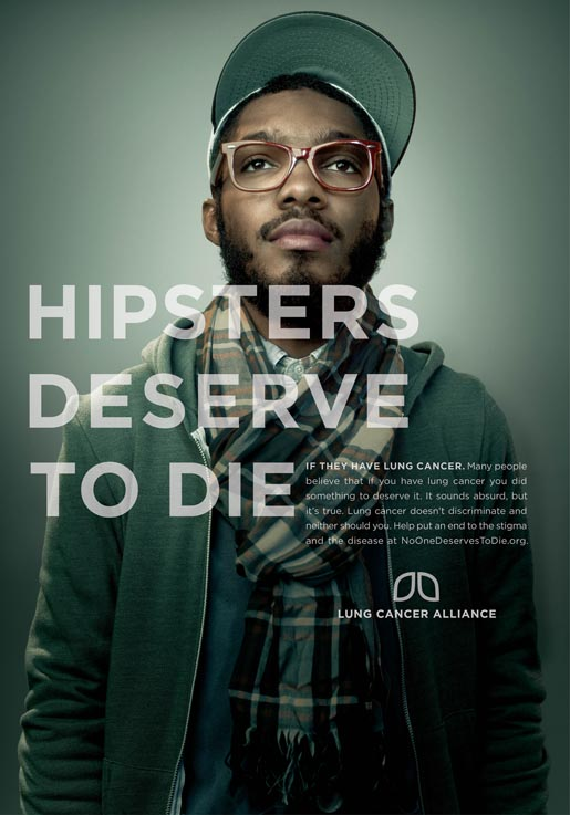 Hipsters Deserve To Die Poster