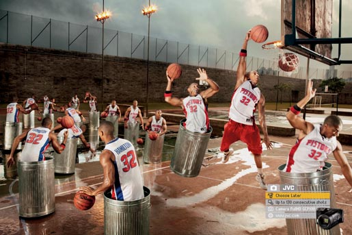 JVC Basketball ad