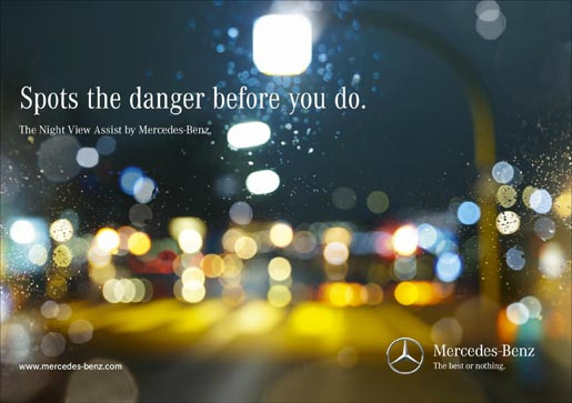 Mercedes Night View Assist Child