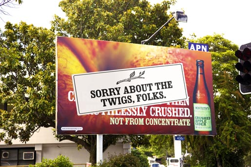 Monteiths Twigs Billboard
