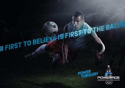 Powerade First To Believe