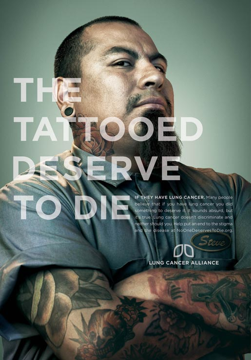 The Tattooed Deserve To Die Poster