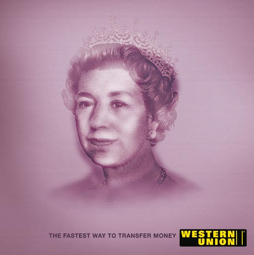 Western Union Queen Elizabeth and Mao Tse Tung