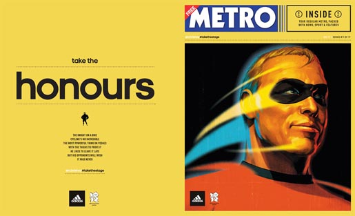 Adidas Take The Stage Metro Wrap - Chris Hoy by Tavis Coburn