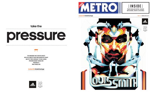 Adidas Take The Stage Metro Wrap - Louis Smith by Charles Williams