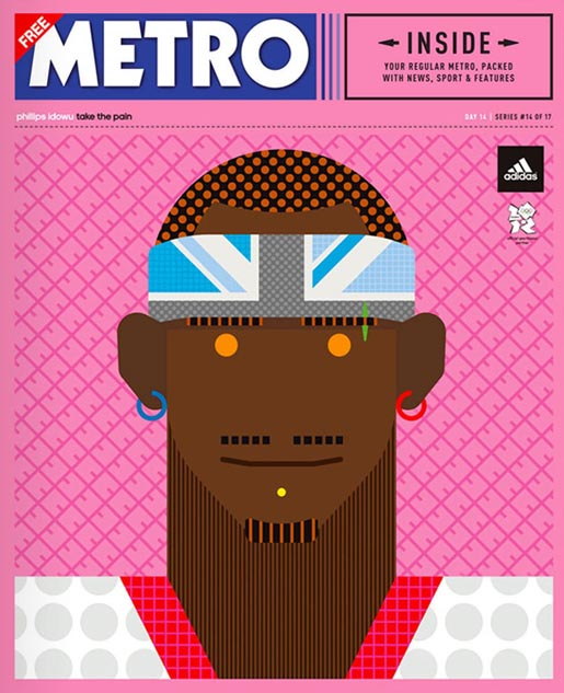 Adidas Take The Stage Metro Wrap - Phillips Idowu by Craig & Karl