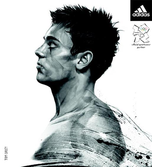 Adidas Take The Stage Metro Wrap - Tom Daley by Studio Von