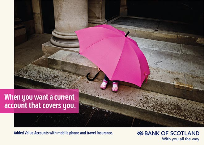 Bank of Scotland With You All the Way - Covers you