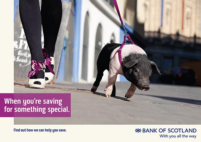 Bank of Scotland With You All the Way - Saving for something Special
