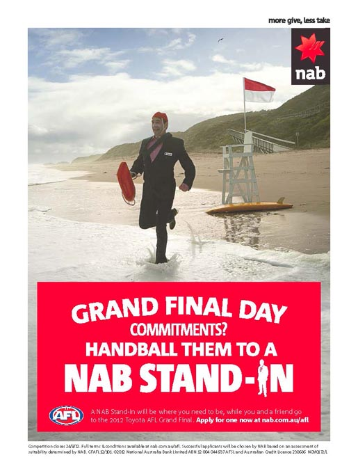 NAB Stand In Lifesaver