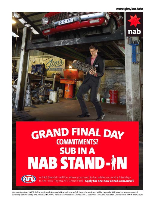 NAB Stand In Mechanic