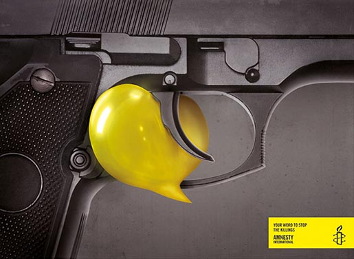 Amnesty Your Word to Stop the Killings - Gun