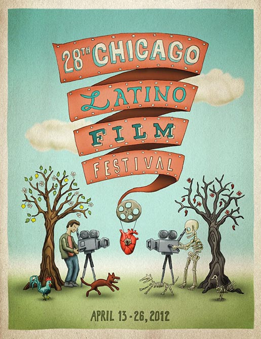 Chicago Latino Film Festival 2012 poster