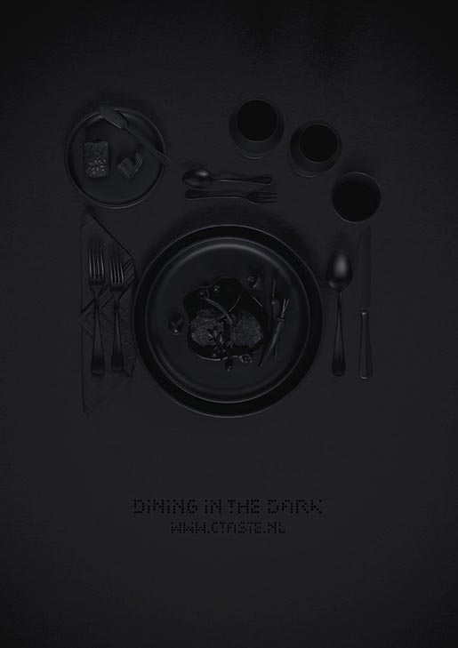 CTaste Dining in the Dark poster