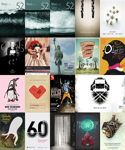 Film Festival Posters Awards winners 2012