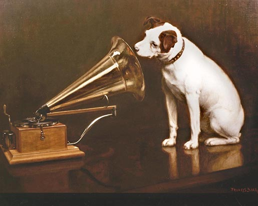 His Masters Voice by Francis Barraud