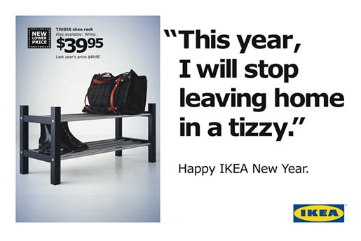 IKEA New Year Resolution Tizzy