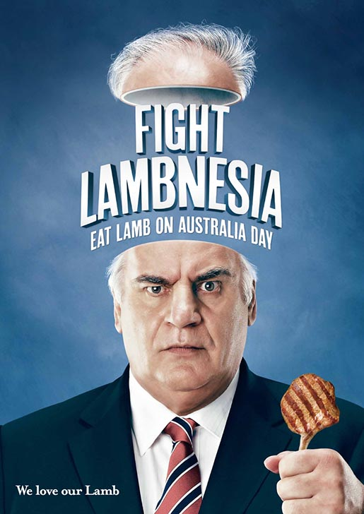 Sam Kekovich Fight Lambnesia poster