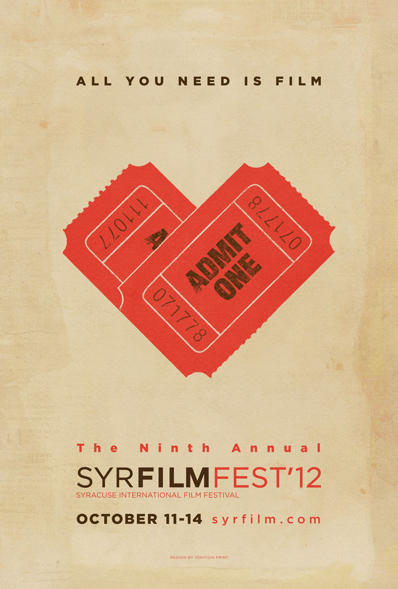 Film Festival Posters 2012 - The Inspiration Room