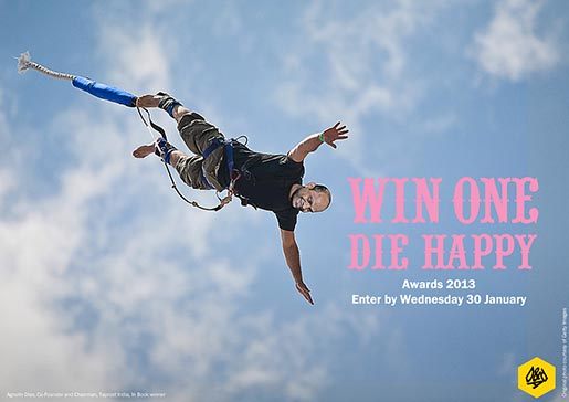 D&ADs Win One Die Happy Agnello Dias Bungee