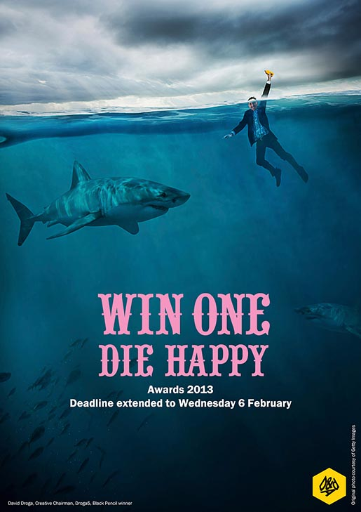 D&ADs Win One Die Happy David Droga Shark