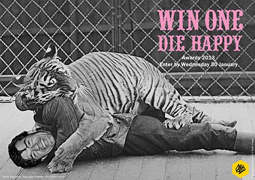 D&ADs Win One Die Happy Stefan Seigmeister Tiger