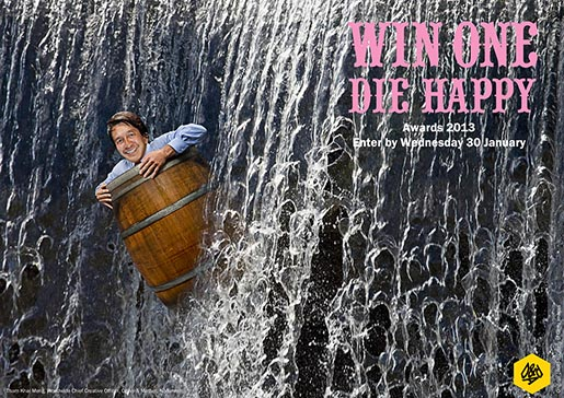 D&ADs Win One Die Happy Tham Khai Meng barrel
