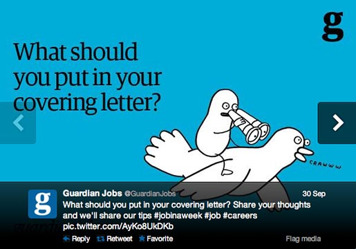 Guardian Jobs Covering Letter