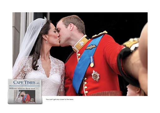 Cape Times William and Kate