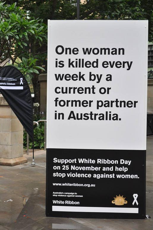 WhiteRibbon One Woman