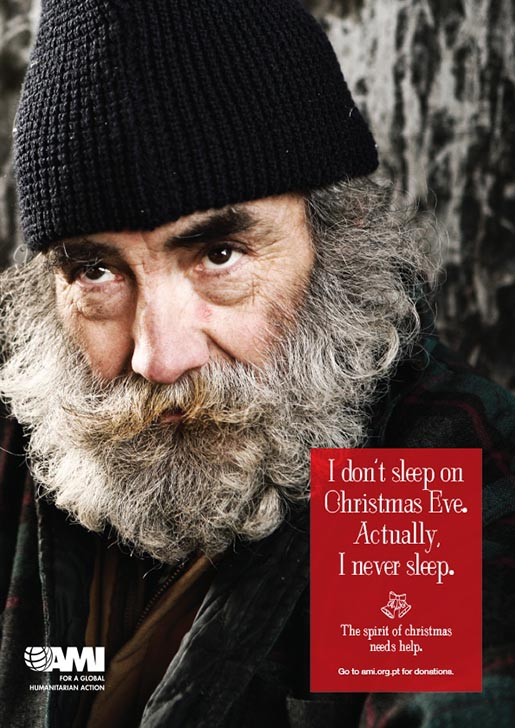AMI Christmas Homeless