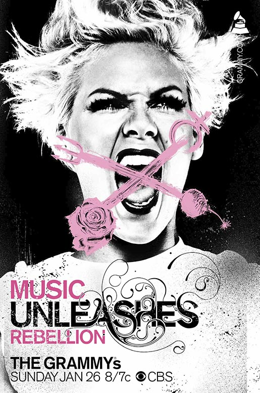 Grammys Awards Music Unleashes Rebellion - P!nk