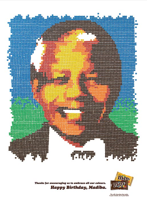 M&Ms Happy Birthday Madiba