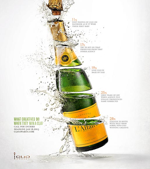 CLIO Awards Champagne