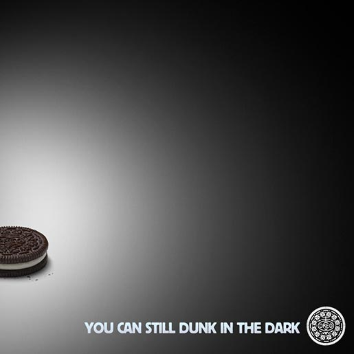 Oreo You Can Still Dunk in the Dark